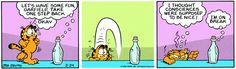 Garfield | Daily Comic Strip on February 24th, 1984