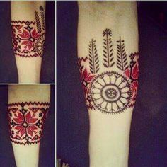 Mens Side Tattoos, Back Tattoos, Sleeve Tattoos, Tatoos, Croatian Tattoo, Ukrainian Tattoo, Back Tattoo Women, Tattoos For Women, Tattoo Touch Up