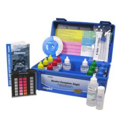 Pool Water Testing and Kits 181059: Taylor K-2005C Service Complete Dpd Chlorine Brom Pool Test Kit W 2Oz Reagents -> BUY IT NOW ONLY: $74.89 on eBay!