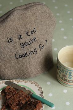 Lionel Richie tea cosy found on Janet Clare's blog