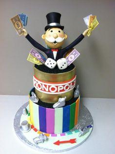 Monopoly - Cake by Bryson Perkins