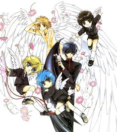 CLAMP, CLAMP School Detectives, Wish, X, 20 Mensho ni Onegai!!, CLAMP South Side