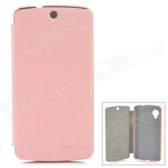 Color: Pink; Brand: KALAIDENG; Model: -; Material: PU leather; Quantity: 1 Piece; Compatible Models: LG Nexus 5; Other Features: Protects your device from scratches, dust and shock; Packing List: 1 x Protective case; http://j.mp/1lkwJhE