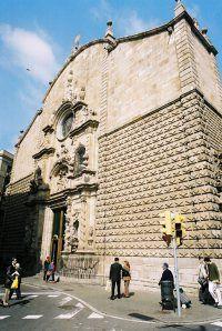 Iglesia de Bethlehem, se encuentra en las Ramblas (1680-1732)
