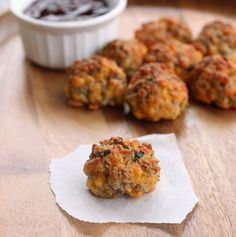 Sausage Cheese Balls last minute Super Bowl food foods appetizers