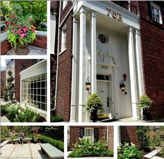 Beautiful landscaping for a beautiful house. Lambda chapter (University of Washington) #GammaPhiBeta