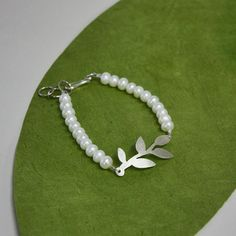 Branch Silhouette Bracelet by LisaScalaJewelry on Etsy, $64.00