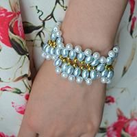 How to Make Beading Bracelets with Pearl Beads for Girls