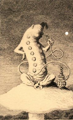 Mervyn Peake. Alice's Illustrated. https://s-media-cache-ak0.pinimg.com/736x/62/2e/0b/622e0beeb8b11d1194e513915a075385--adventures-in-wonderland-book-illustrations.jpg