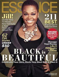 TWA Hairstyles #NaturalHair Jill Scott covers Essence