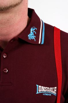 In Stock: The Lonsdale Classic Lion Slim Fit Polo Shirt: £35  The classic English cut polo shirt, with a lion embroidered collar and Lonsdale logo on the left sleeve.   A tight fit, this is a true Lonsdale classic and a 100% original item from a licensed Lonsdale manufacturer.  Available in Small, Medium, large and X Large, in oxblood, navy and black (depending on size/colour combination)…find out more…http://bit.ly/QX3tiR…