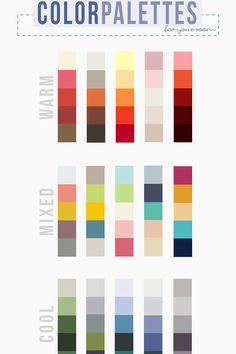 Color Palettes | 23 Borderline Genius Ways To Make Your Home Calm