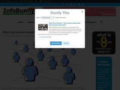 Storify - Infobunny Profile - My 3 Favourite Content Curation Sites