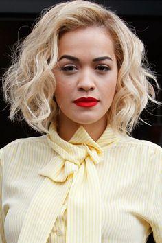 Rita Ora bob hair