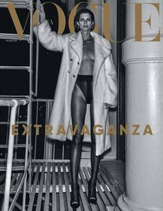 Vogue Ukraine October 2017 Cover (Vogue Ukraine)