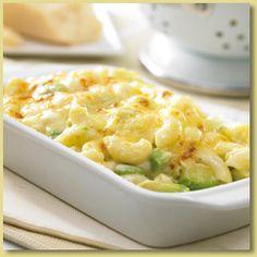 Avocado and Macaroni and Cheese (or Pasta Bake) Recipe