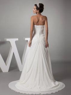 Topwedding Flowing Chiffon Summer Beach Wedding Dress w Appliques  http://www.yearofstyle.com/topwedding-flowing-chiffon-summer-beach-wedding-dress-w-appliques-3/
