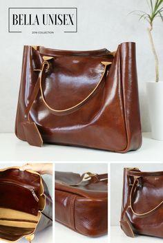 Handmade leather bag #leather #fashion
