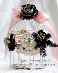 Shabby Bird Cages And Teas On Pinterest