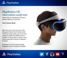 An awesome Virtual Reality pic! And this is on ! The future is here ! Paris Games Week here I come #parisgamesweek #psvr #playstation #ps4 #playstationvr #morpheus #virtualreality #virtual #reality #pgw #sony #videogames #future #paris #france #ig_france #ig_paris by quentinlieure check us out: http://bit.ly/1KyLetq