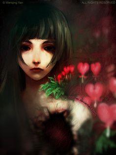 Bleeding Heart by `yuumei on deviantART