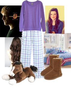 """""""my pyjamas!"""" by one-direction-luver913 ❤ liked on Polyvore"""