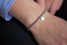 Bracelets avec perles en argent 39€ Bracelet unique créateur Elise et moi A voir!