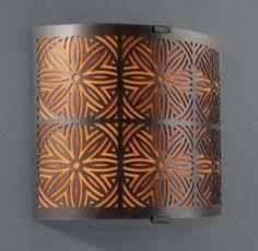Kinkiet dekoracyjny 1x40W E14 PHILIPS-MASSIVE AALIYAH 33185/86/10 brązowy - MASSIVE