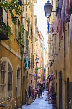The Old Town, Nice, Alpes-Maritimes, Provence, Cote D'Azur, French Riviera, France, Europe Photographic Print by Amanda Hall at eu.art.com