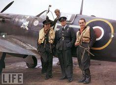 Polish pilots . Kill marks