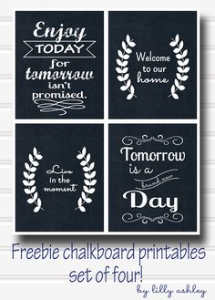 700 best chalkboard printables images on pinterest in 2018