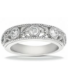 Shop For Cheap 14k Xl Ladies Two Tone Genuine Diamond Dome Heart Fashion Promise Ring 1/2 Ct Fine Rings