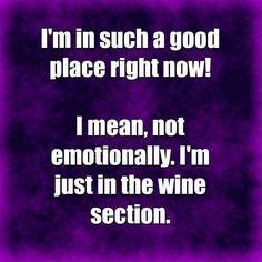 Ahhhh wine!