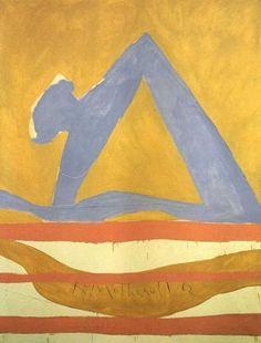 Robert Motherwell, summertime in Italy