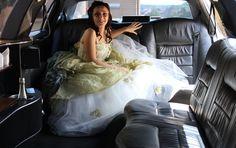 Hochzeitslimousine mit viel Platz für die Braut