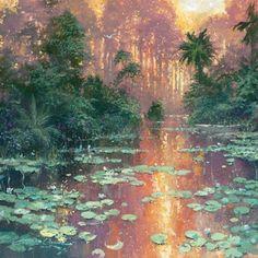Time to Reflect by artist James Coleman available at Village . Fantasy Landscape, Fantasy Art, Disney Kunst, Disney Fine Art, Nature Aesthetic, Wow Art, Art Abstrait, Pretty Art, Art Studios