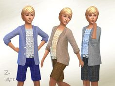 Boys Fashion by Zuckerschnute20 at TSR via Sims 4 Updates