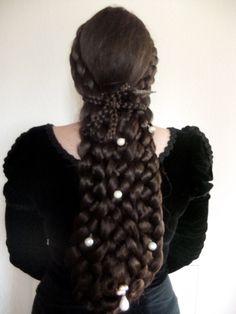 Emperess Elisabeth, Sisi hairpiece, hairdo, sissi