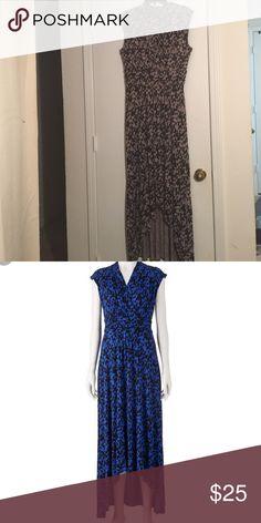 🆕 Women's Jersey knit High Low Maxi Dress-XL Women's Jersey knit High Low Dress Apt. 9 Dresses Maxi