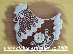 Moje malé tvoření - Fotoalbum - Perníčky - Perníčky velikonoční ... Cookie Monster, Royal Icing, Cookie Decorating, Gingerbread, Ornaments, Cake, Desserts, Kids, Easter Decor