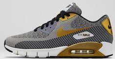 Nike Air Max '90 JCRD Premium QS Ivory/Metallic Gold-Metallic Silver-Black