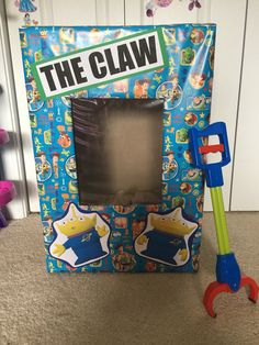 The claw game!!