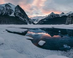 Winter Scenes of Banff National Park by Tasha Marie #art #photography #Nature Photography