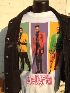 real vintage BELL BIV DEVOE full color Poison new jack swing hip 90s rap dance swag New Edition on Etsy, $99.00