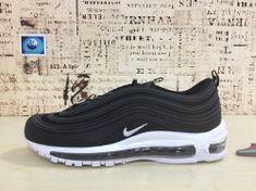 hot sale online e3acd 7f120 Popular Nike Air Max 97 Retro Black bullet Men s Women Sports shoes  Sneakers 921826 001