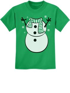 Items similar to SnowMan Christmas Funny Outfit Boy Girl Youth Kids T-Shirt on Etsy Christmas Sweaters, Christmas Snowman, Christmas Humor, Funny Snowman, Funny Outfits, Cute Shirts, Goal, Decorating Ideas, Xmas