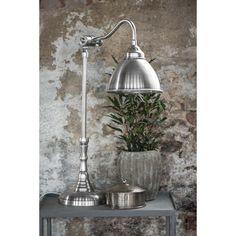 Bordlampe m/metalskærm