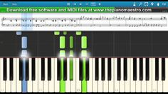 No Doubt  - Don't Speak - piano lesson piano tutorial