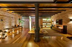 Loft, Decorative Items, Light Colors, Mid-century Modern, Pergola, Mid Century, Outdoor Structures, Windows, Warm