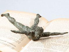 Nadador - escultura en bronce - bronze sculpture